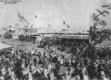 Picture relating to Mackay - titled 'Intersection of Sydney and Victoria Streets, Mackay, during Commonwealth celebrations, 1901'