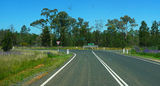 Picture relating to Parkes Eugowra Road - titled 'Intersection of Parkes Eugowra Road and Forbes Eugowra Road'