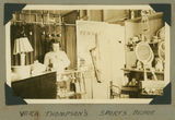 Picture relating to Cunnamulla - titled 'Vera Thompson inside her sporting goods store, Cunnamulla, 1939'