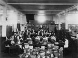 Picture relating to Toowoomba - titled 'Interior of the mailing office at Pigott and Company, Toowoomba, ca.1924'