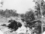 Picture relating to Helidon - titled 'Railway construction site at Helidon, ca. 1865'