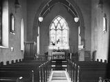 Picture relating to Reid - titled 'Interior of St John's Church, Constitution Avenue, Reid.'