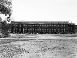 Picture relating to Black Mountain - titled 'CSIR Laboratory Building, Clunies Ross Street, Black Mountain, under construction.'