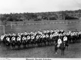 Picture relating to Warwick - titled 'Warwick Mounted Infantry, part of the Queensland Defence Force, 1897'