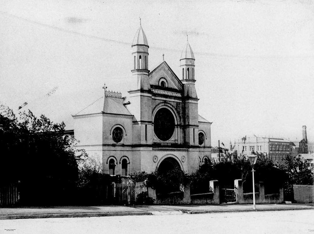 Picture of / about 'Brisbane' Queensland - Brisbane Synagogue, ca. 1906