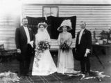 Picture relating to Lowood - titled 'Lowood wedding party, ca. 1910'