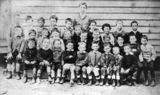 Picture relating to Gympie - titled 'Students from Monkland State School, Gympie, Queensland, ca. 1890'