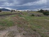 Picture relating to Currabubula - titled 'Railway Line & Werris Creek Rd'