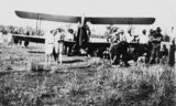 Picture relating to Kilcoy - titled 'First plane landing in Kilcoy, 1927'