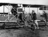 Picture relating to Queensland - titled 'Early biplane, 1920-1930'