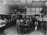 Picture relating to Kingaroy - titled 'Interior of Busy Bee Cafe at Kingaroy, Queensland, 2nd January, 1929'