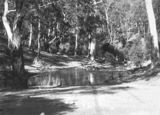 Picture relating to Cotter River - titled 'Ford across the Cotter River below the dam'