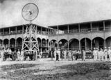 Picture relating to Thursday Island - titled 'Military Barracks on Thursday Island, Queensland, ca. 1900'