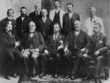 Picture relating to Warwick - titled 'Members of the Warwick Municipal Council, 1901'