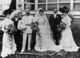 Picture relating to Queensland - titled 'German Consul's wedding in 1901'