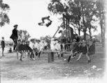 Picture relating to Acton - titled 'Children on see saw and swing at School Sports Day at Acton Sports Ground'