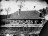 Picture relating to Yatala - titled 'Thomas Hanlon's Ferry Hotel at Yatala, 1872'