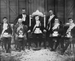 Picture relating to Mount Isa - titled 'Foundation Members of the Ivanhoe Royal Arch Chapter of Freemasons, Mount Isa,'