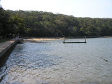 Picture relating to Oatley - titled 'Beach on Jewfish Bay'