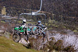Picture relating to Crackenback - titled 'Crackenback Chairlift in summer'