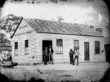 Picture relating to Stanthorpe - titled 'Bank of New South Wales, Maryland Street, Stanthorpe 1872'