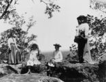 Picture relating to Blackall - titled 'Outing at Tithrungli Mountain in the Blackall District, 1905'
