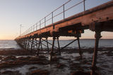 Picture relating to Fowlers Bay - titled 'Fowlers Bay Jetty at Dawn'