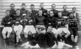 Picture relating to Landsborough - titled 'Landsborough Rugby League Football Club, 1910'