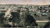 Picture relating to Brisbane - titled 'Fortitude Valley, Brisbane, from Bowen Hills.'