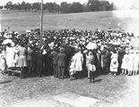 Picture relating to Acton - titled 'Part of crowd at Acton racecourse'
