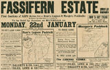 Picture of / about 'Fassifern' Queensland - Estate map of Fassifern Estate including Moogera Paddocks and Kents Lagoon, Fassifern, Queensland, 1906