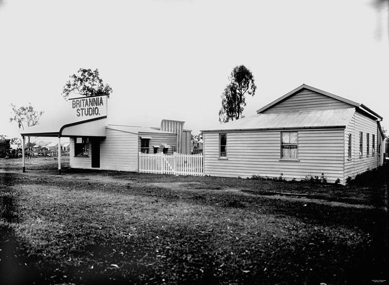 Picture of / about 'Ingham' Queensland - Harriett Brims' Britannia Studio, Ingham, ca. 1902-1903