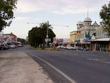 Picture relating to Yarram - titled 'Yarram Vic - Main street looking east February 2005'
