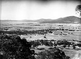Picture relating to Red Hill - titled 'View from Red Hill toward Ainslie'