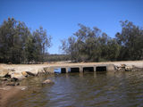 Picture relating to Chillinup Road - titled 'Pallinup River  Floodway Crossing'