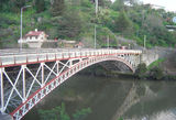 Picture relating to Launceston - titled 'Kings Bridge over South Esk River Launceston'