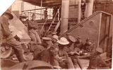 "Picture relating to Brisbane - titled 'Brisbane, Diggers aboard ""The Fremantle""  WWI - 1917'"