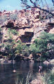 Gibb River Road Galvans Gorge on the Isdell River.