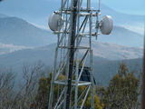 Picture relating to Mount Tennent - titled 'Mount Tennent Microwave Tower'
