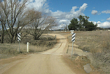 Picture relating to Yandyguinula Creek - titled 'Low Level Crossing over Yandyguinula Creek'