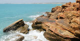 Picture relating to Gantheaume Point - titled 'Gantheaume Point Broome WA'