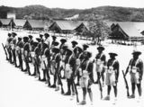 Picture relating to Thursday Island - titled 'Torres Strait Light Infantry Battalion, 1945'