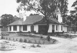 Picture relating to Red Hill - titled 'House in Tennyson Crescent, Red Hill first occupied by P. J. Sheaffe-Surveyor.'