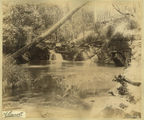 Picture relating to Killarney - titled 'Having a rest by the lake at Killarney, in the Warwick district, 1889'
