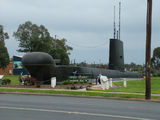 Picture relating to Holbrook - titled 'HMAS Otway Submarine at Holbrook'