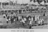 Picture relating to Esk - titled 'At the Esk Showgrounds, show day, 1905'