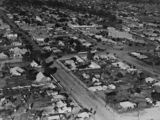 Picture relating to Charleville - titled 'Aerial views of the town centre Charleville, 1934'