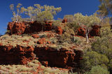 Picture relating to Hamersley Gorge - titled 'Hamersley Gorge rim'