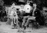 Picture relating to Queensland - titled 'Beecher family, 1914'