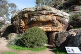 Picture relating to Scenic Hill - titled 'Ricetti Hermit Cave - the Main Cave'